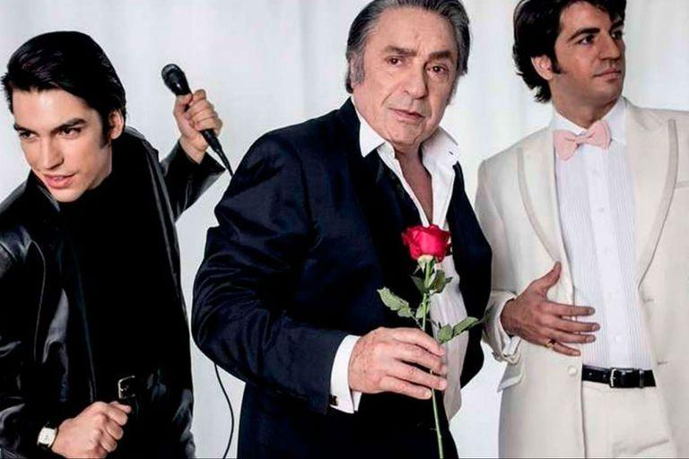 Los protagonistas del éxito: Agustín Sullivan, Antonio Grimau y Marco Antonio Caponi