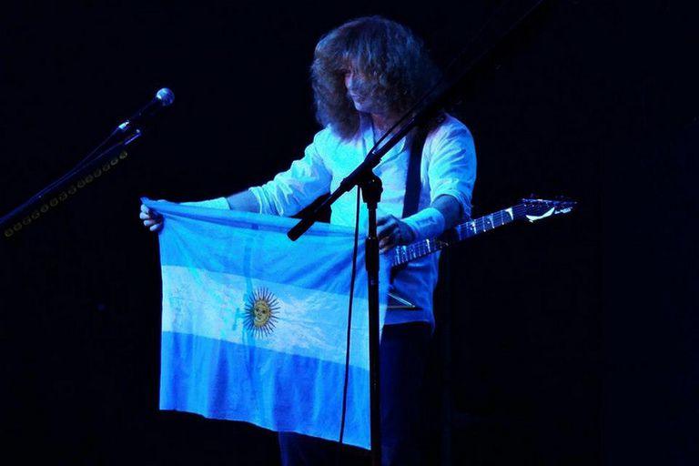Dave Mustaine, líder de Megadeth y su declaración de amor a la Argentina