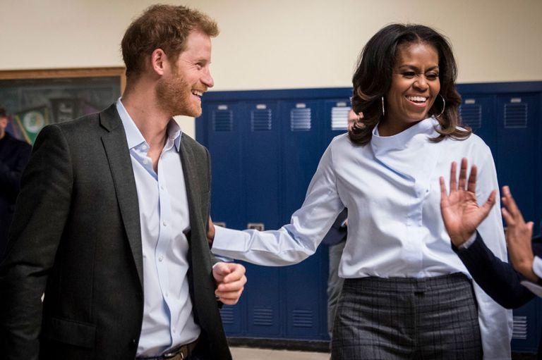 Realeza y racismo: Michelle Obama habló sobre la revelación de Meghan Markle