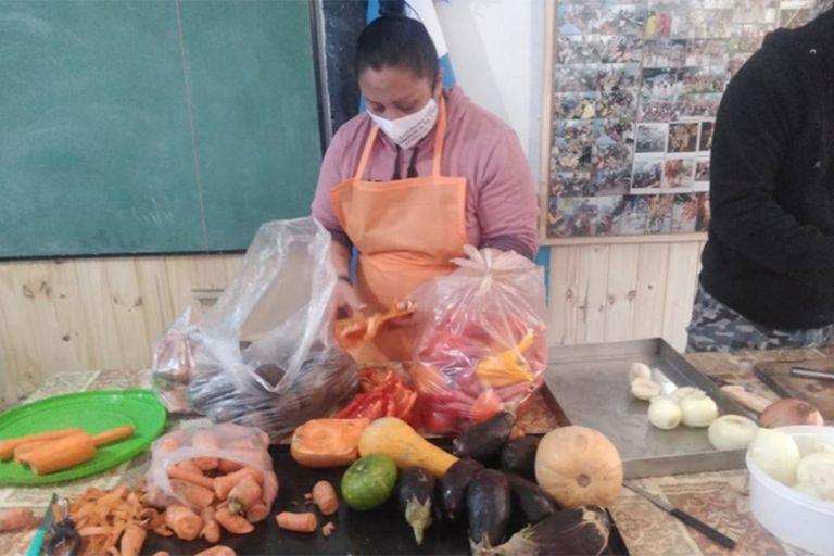 El comedor asaltado funciona hace 25 años en Berazategui