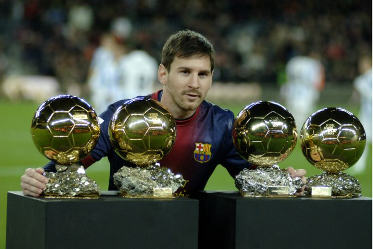 Messi buscará su quinto Balón de Oro