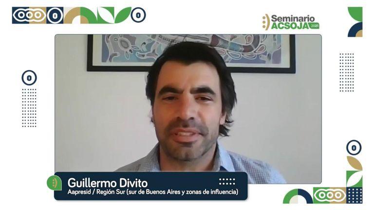 """Guillermo Divito, ingeniero agrónomo y asesor de la Regional """"Juan Manuel Fangio"""" de Aapresid"""