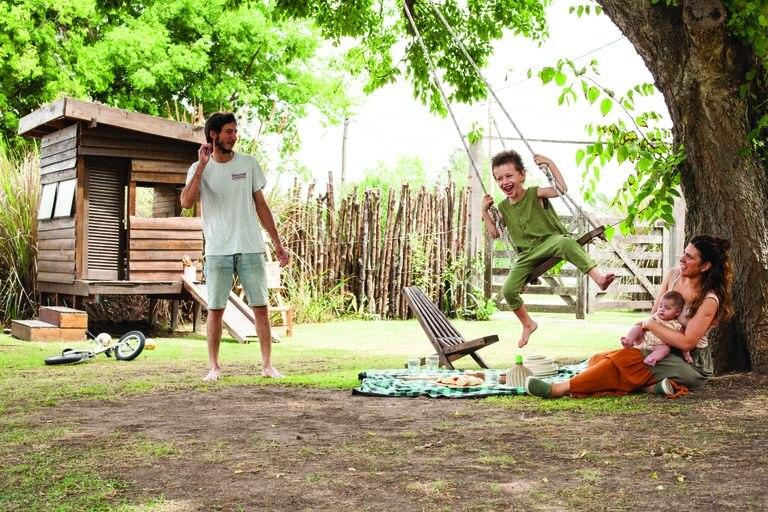 En el verano, todo sucede afuera: los pícnics y las tardes de hamaca de galileo (Volare Hamacas).