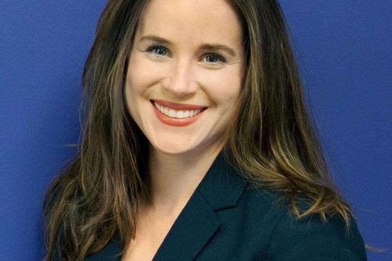 Ashley, la hija menor del presidente electo de Estados Unidos Joe Biden