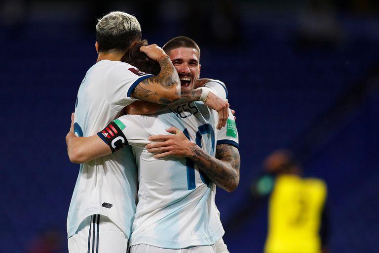 Messi marcó el gol del 1-0 de penal