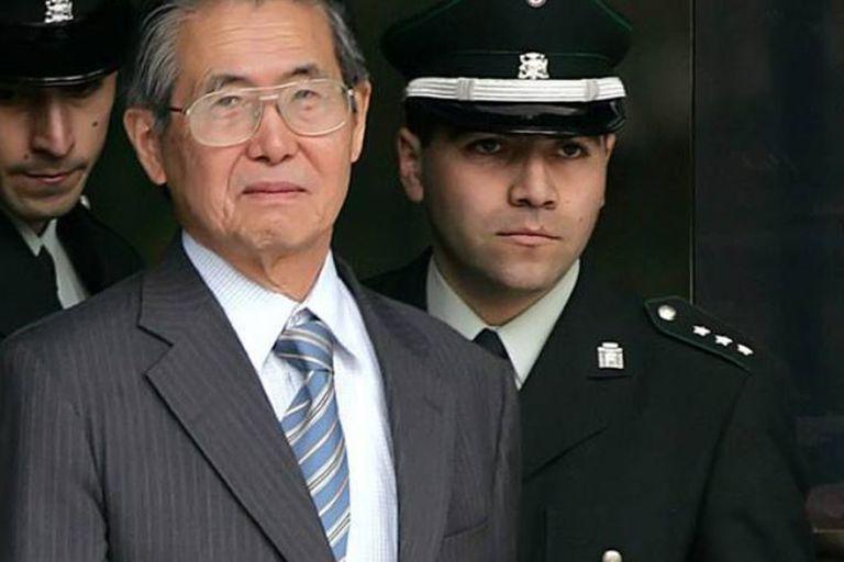 El expresidente Alberto Fujimori