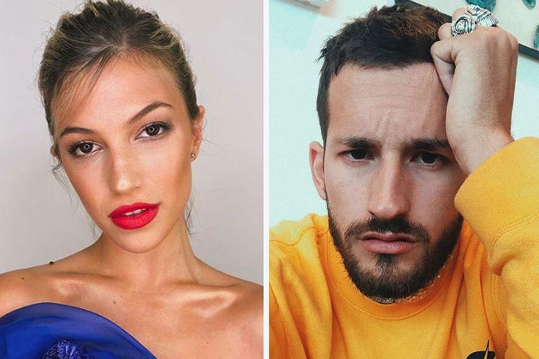 Stefanía Roitman y Ricky, el hijo de Ricardo Montaner, juntos