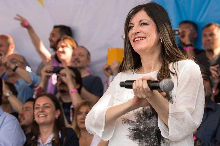 La diputada kirchnerista Fernanda Vallejos impulsó una proclama sobre cómo negociar con el FMI