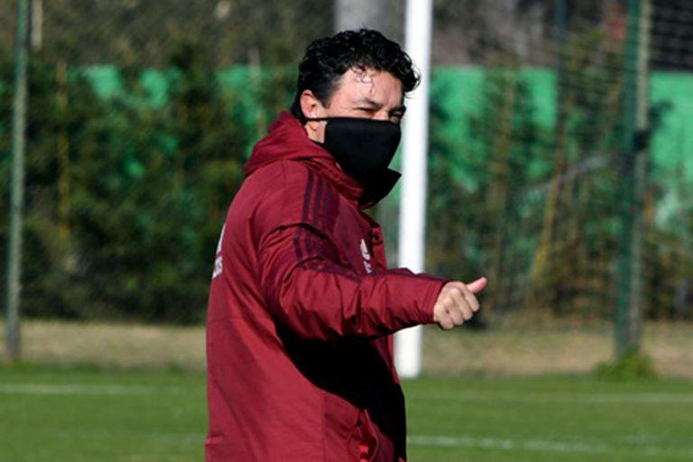 """Pollo Vignolo celebró una decisión del técnico de River: """"Me hago gallardista"""""""