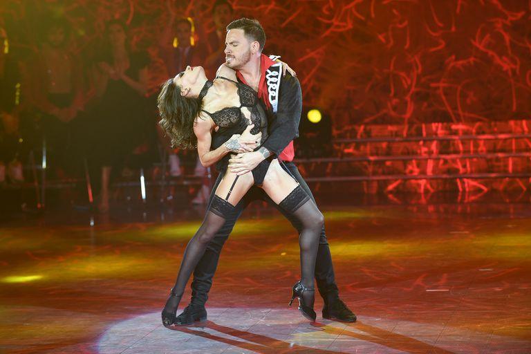 El participante, que bailó junto a Soledad Bayona, se mostró conmovido por lo que le ocurrió a su compañera, Lourdes Sánchez