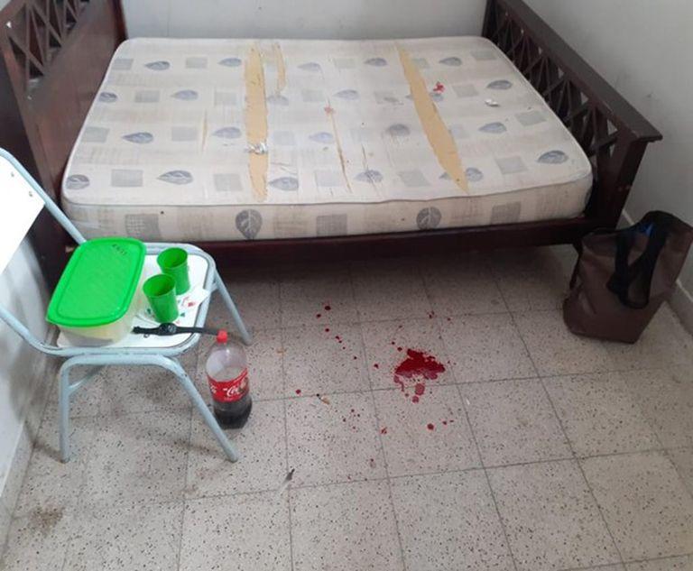 La habitación 1 de la cárcel federal de Güemes, en Salta, donde Ramón Oscar Luna, expolicía de Salta preso por narcotráfico, intentó asesinar a su esposa