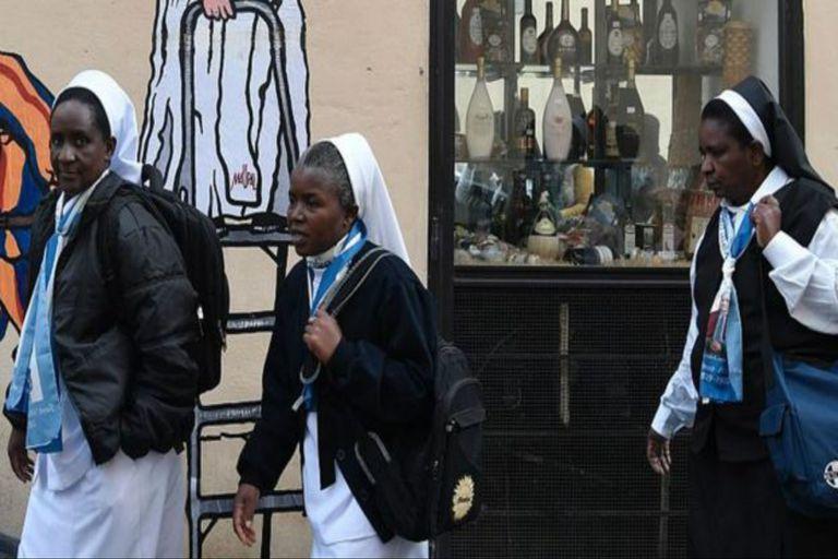 Algunas monjas llegan del seno de familias pobres de África, Asia y América Latina