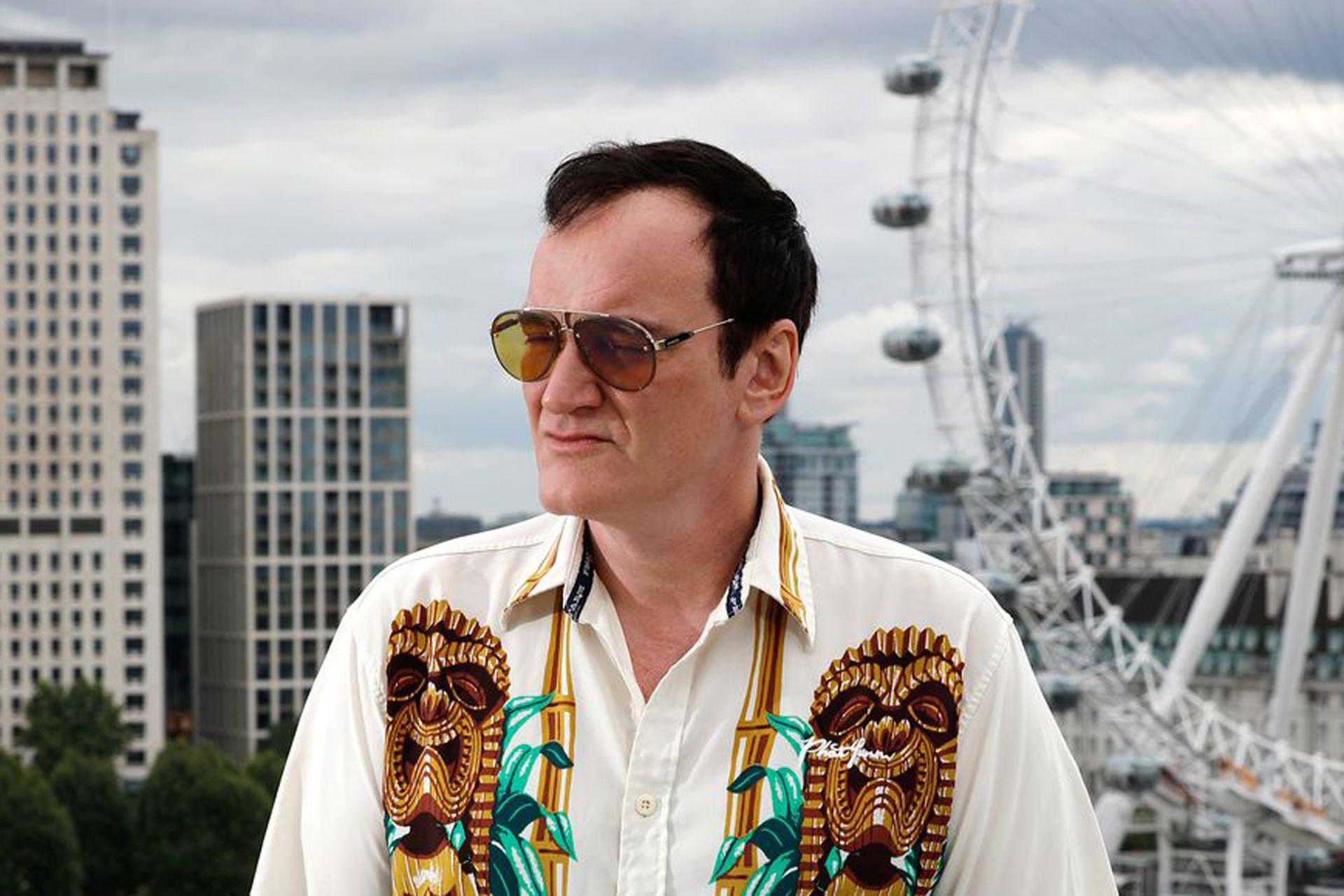 Quentin Tarantino, el chico del videoclub