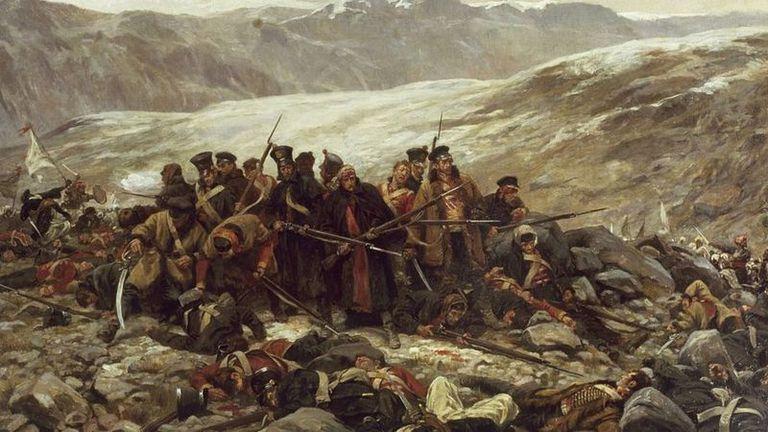 El ejército británico, entonces el más poderoso del mundo, fue humillado por tribus afganas con armas poco sofisticadas durante la Primera Guerra Anglo-Afgana.