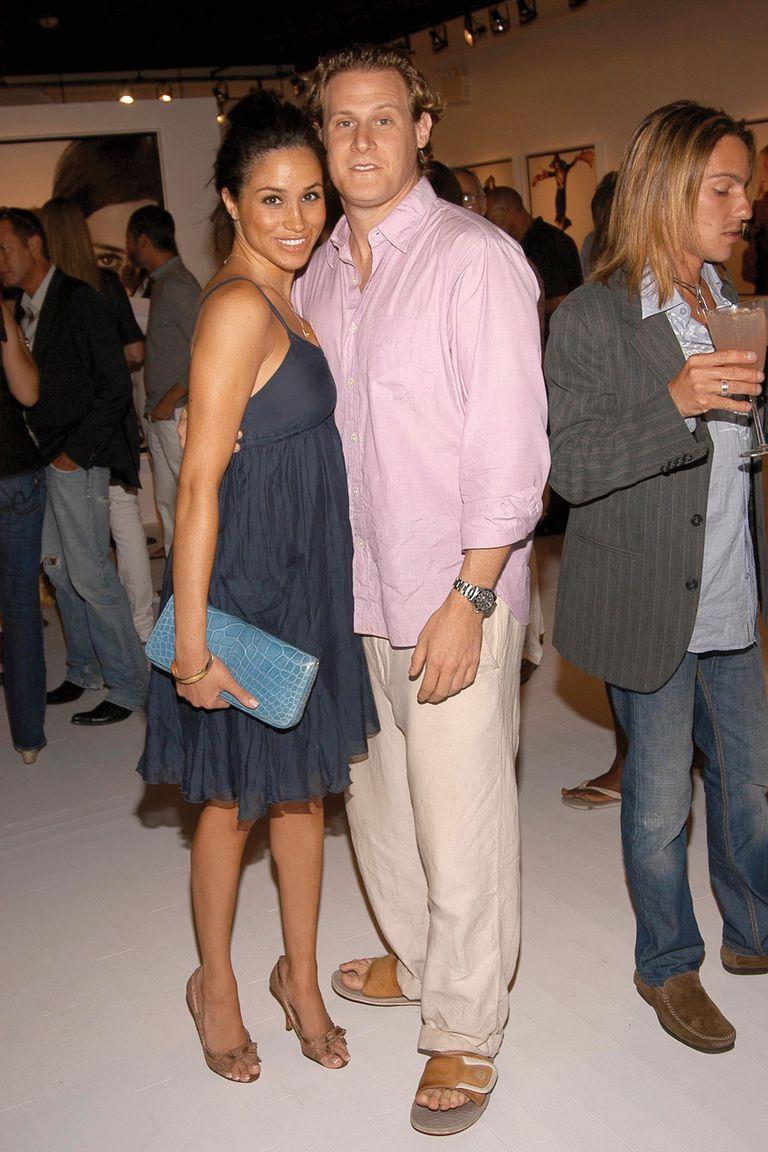 Meghan y Trevor se casaron el 10 de septiembre de 2011 en Ocho Ríos, Jamaica. En aquella oportunidad, primera boda para ambos, invitaron a cien invitados y bailaron en la playa hasta el amanecer. Se divorciaron dos años más tarde.