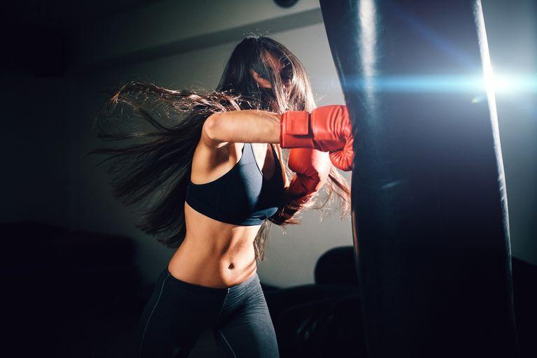 El objetivo de las técnicas de box es ejercitar la musculatura, haciendo trabajo de fibras rápidas