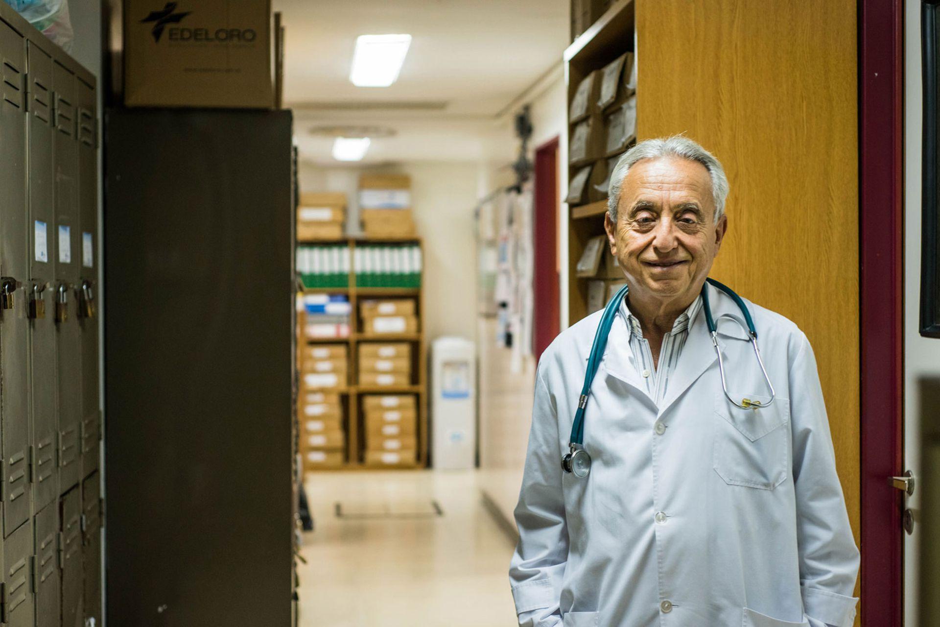 """""""El coronavirus va a cambiar muchas cosas, aunque no soy tan optimista"""", dice."""
