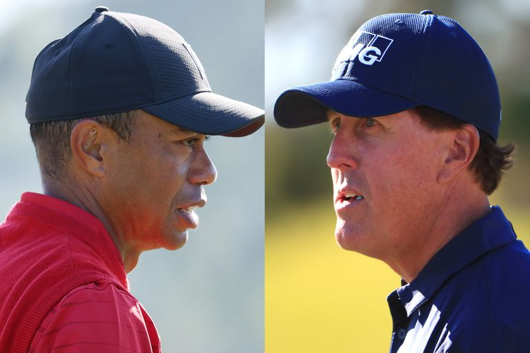 Tiger Woods y Phil Mickelson... frente a frente