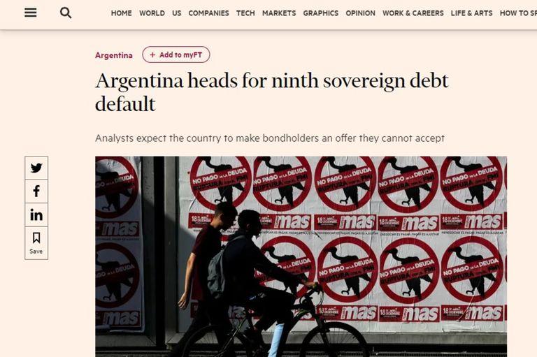 El artículo publicado por el Financial Times