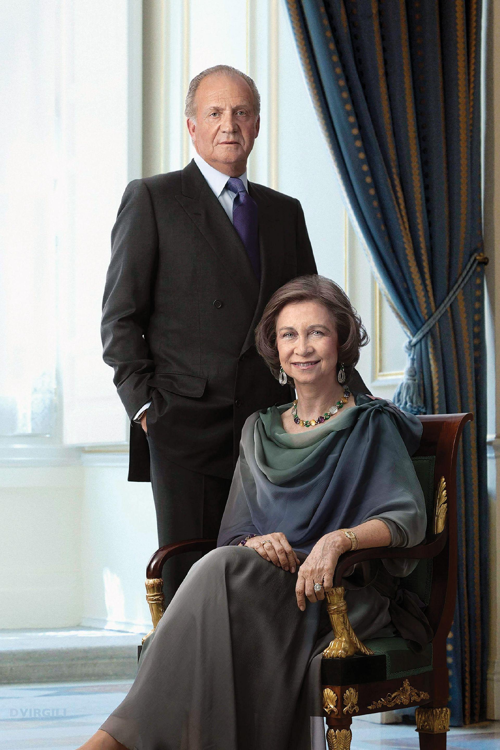 La reina Sofía, hija mayor de los reyes Pablo I y Federica de Grecia, es esposa de Juan Carlos desde 1962