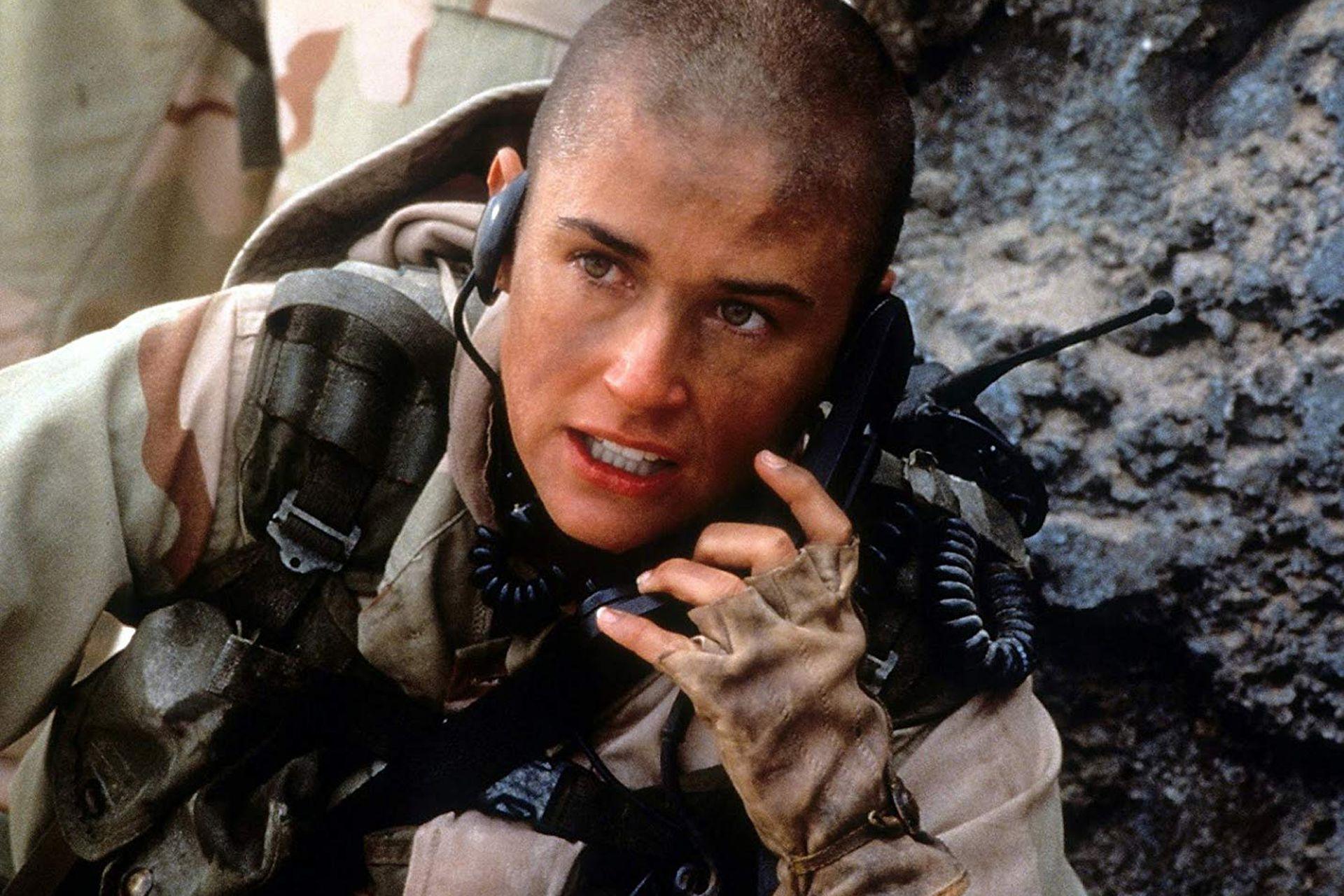 Demi Moore, en una escena de Hasta el límite