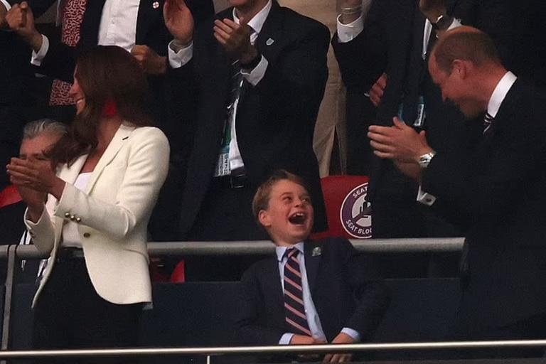 La euforia de Jorge durante un partido de la Eurocopa