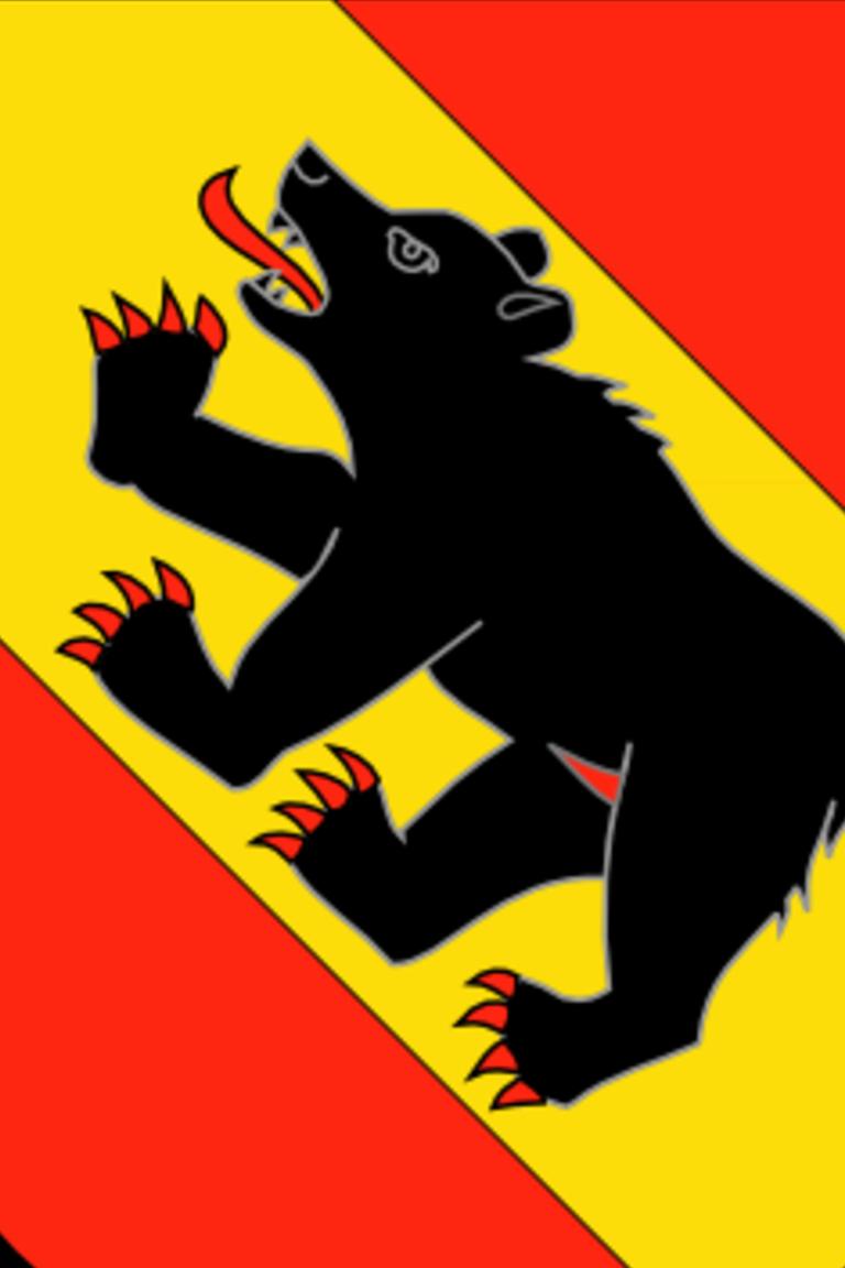 El escudo del cantón de Berna tiene también la imagen de un oso