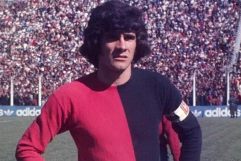 Mario Zanabria, talentoso atacante de Newells que participó en esa exhibición del combinado rosarino frente al seleccionado nacional.
