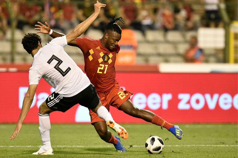 Sin Mohamed Salah, la selección de Egipto, perdió con Bélgica