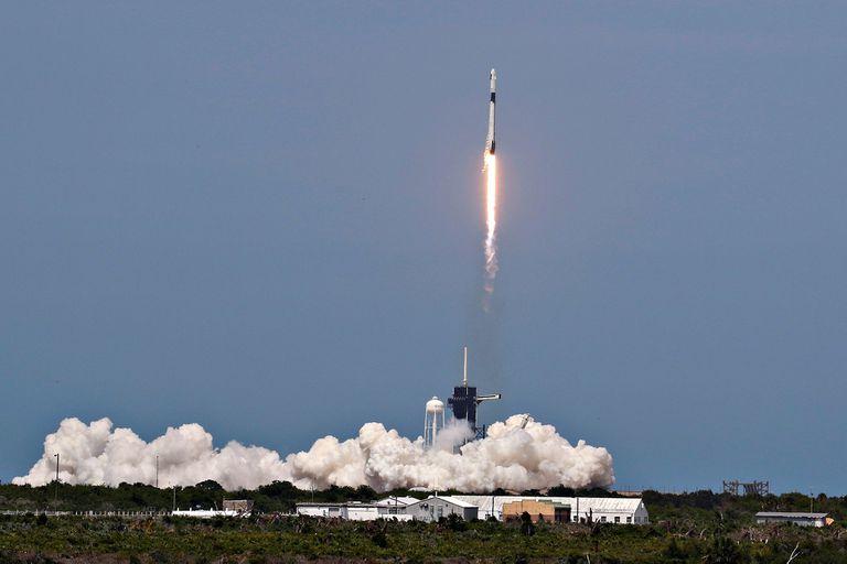 Así fue el lanzamiento de la SpaceX