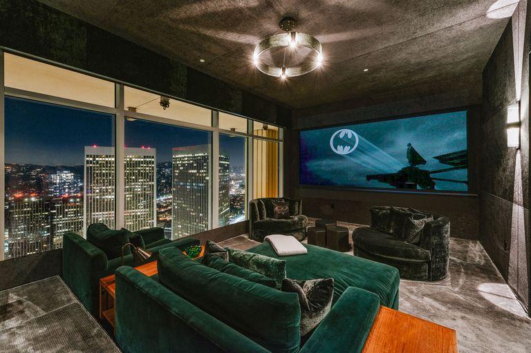 El penthouse que Matthew Perry puso a la venta en Los Ángeles