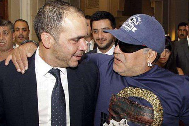 Maradona volvió a respaldar al Príncipe jordano