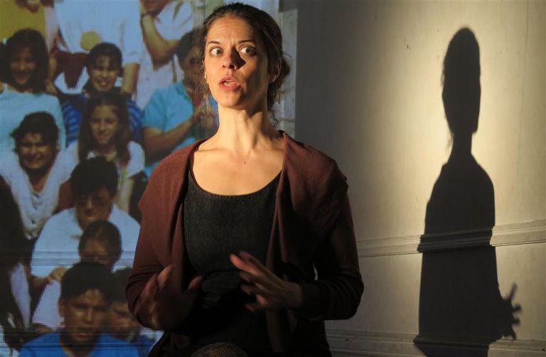 Macarena Trigo, autora, directora e intérprete