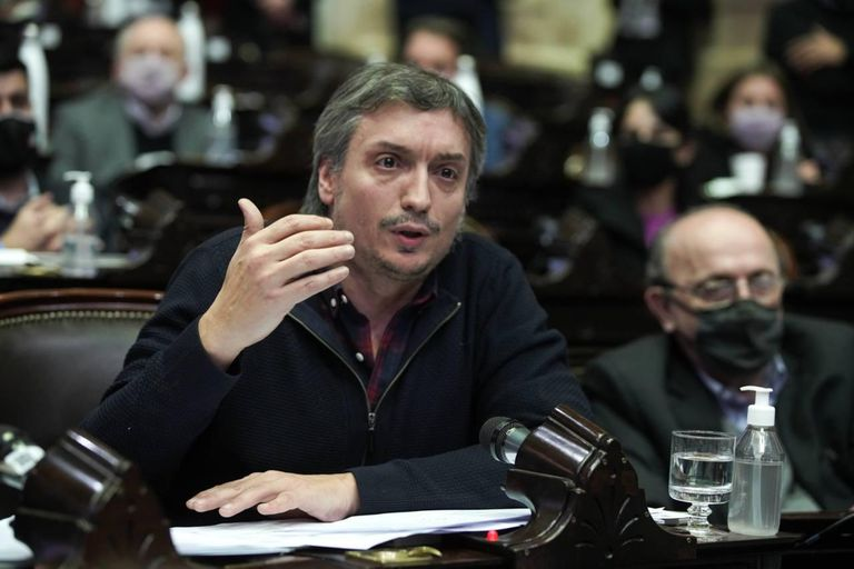 Desde la Cámara de Diputados Máximo Kirchner avaló el proyecto convertido en ley por el Senado