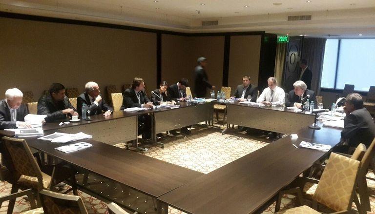 La reunión de tres de los equipos grandes con los delegados de FIFA y Conmebol