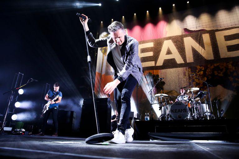 Keane en el Movistar Arena