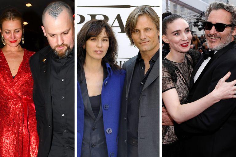 Las parejas más discretas de Hollywood, de Cameron Diaz a Viggo Mortensen