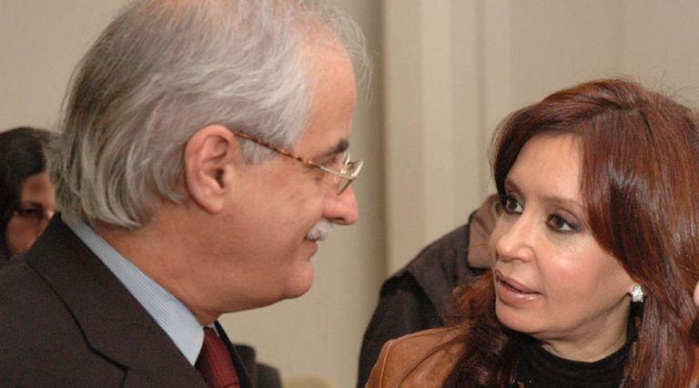 Cristina Kirchner y Jorge Taiana