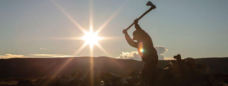 Historias. El hombre que vive solo en medio de la estepa patagónica