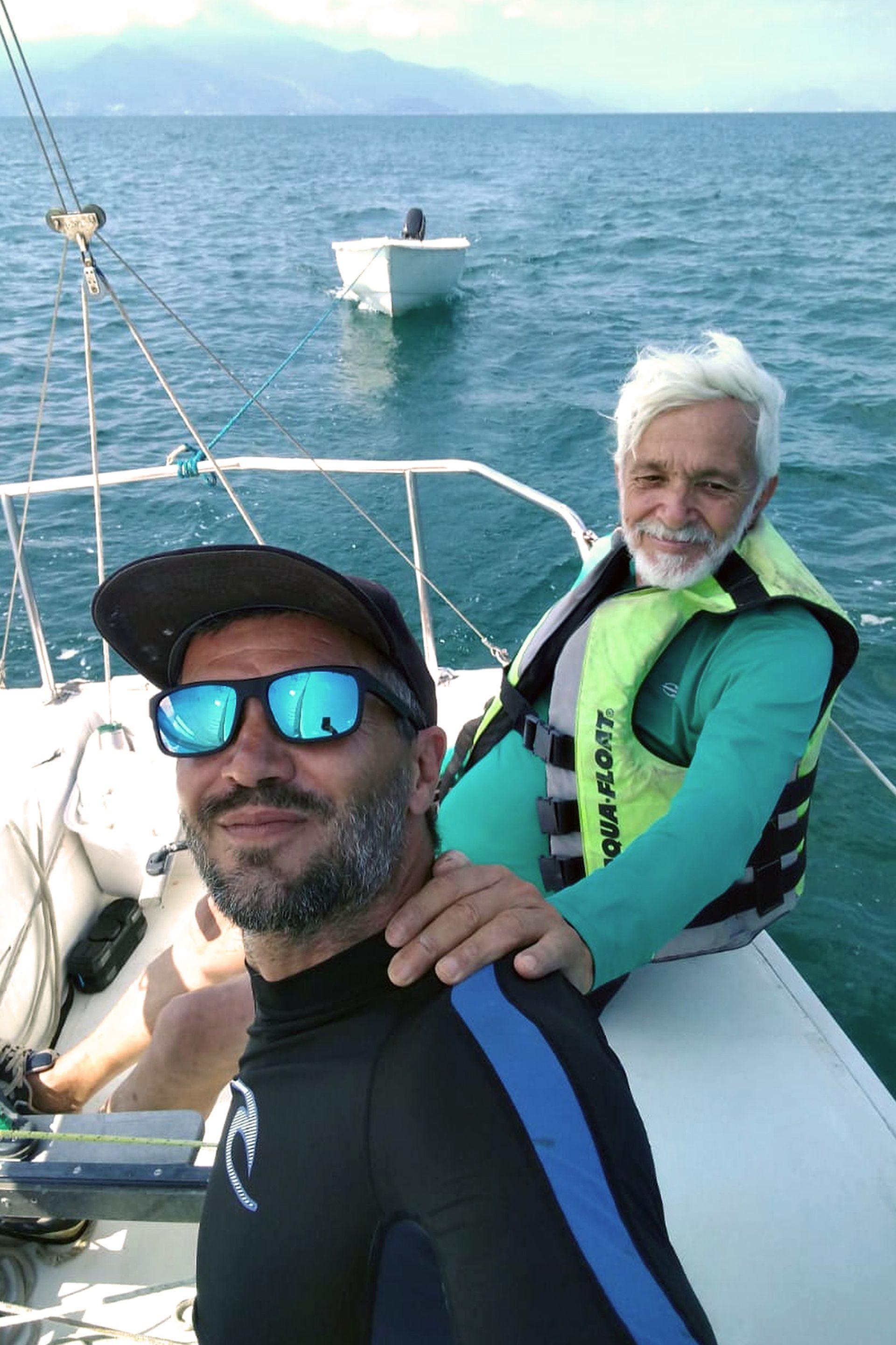 Andrés y su padre de aventura