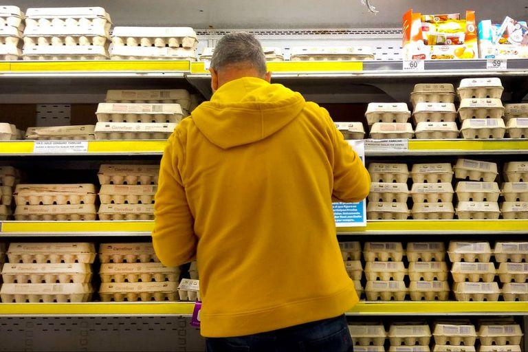 En 20 días: alertan que se viene un faltante de huevo en las góndolas