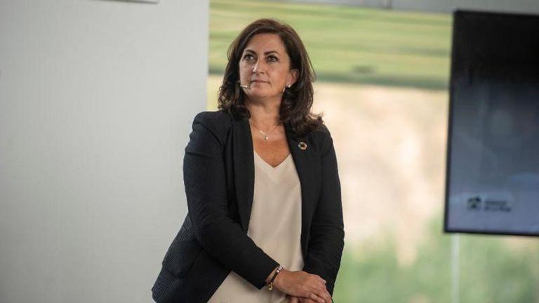 14-09-2021 La presidenta del Gobierno de La Rioja, Concha Andreu POLITICA ESPAÑA EUROPA LA RIOJA GOBIERNO DE LA RIOJA