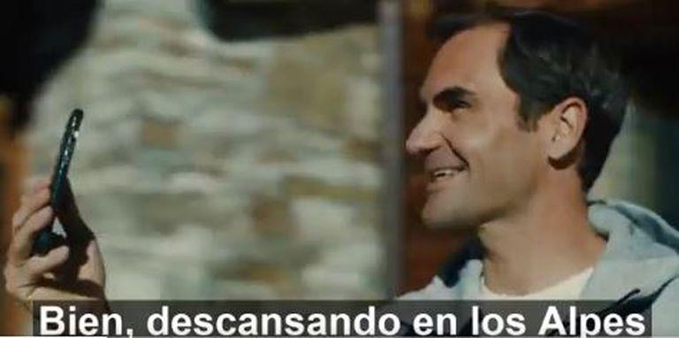 Roger Federer en la publicidad