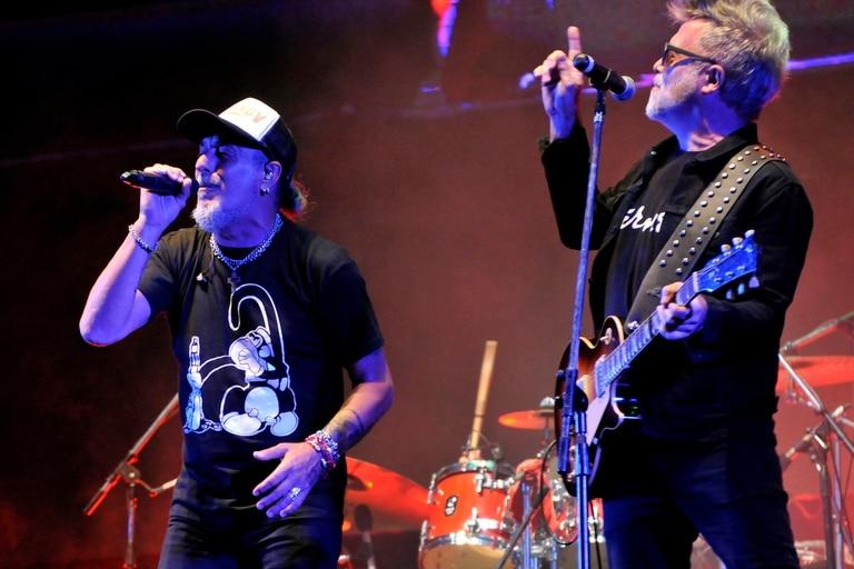 De festejo. Kapanga celebró sus 25 años con un show en el Hipódromo de Palermo, el fin de semana pasado, con grandes invitados sobre el escenario