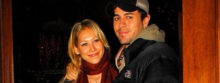 Iglesias y Kournikova: un amor que se escapó de un video para hacerse realidad