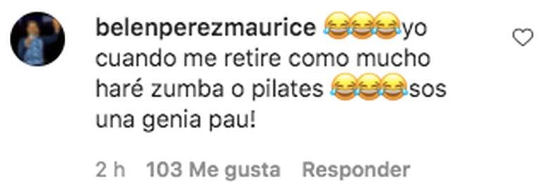 La respuesta de Belén Pérez Maurice a la publicación de Paula Pareto