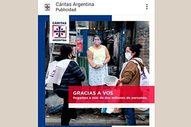Cáritas: contagiar solidaridad