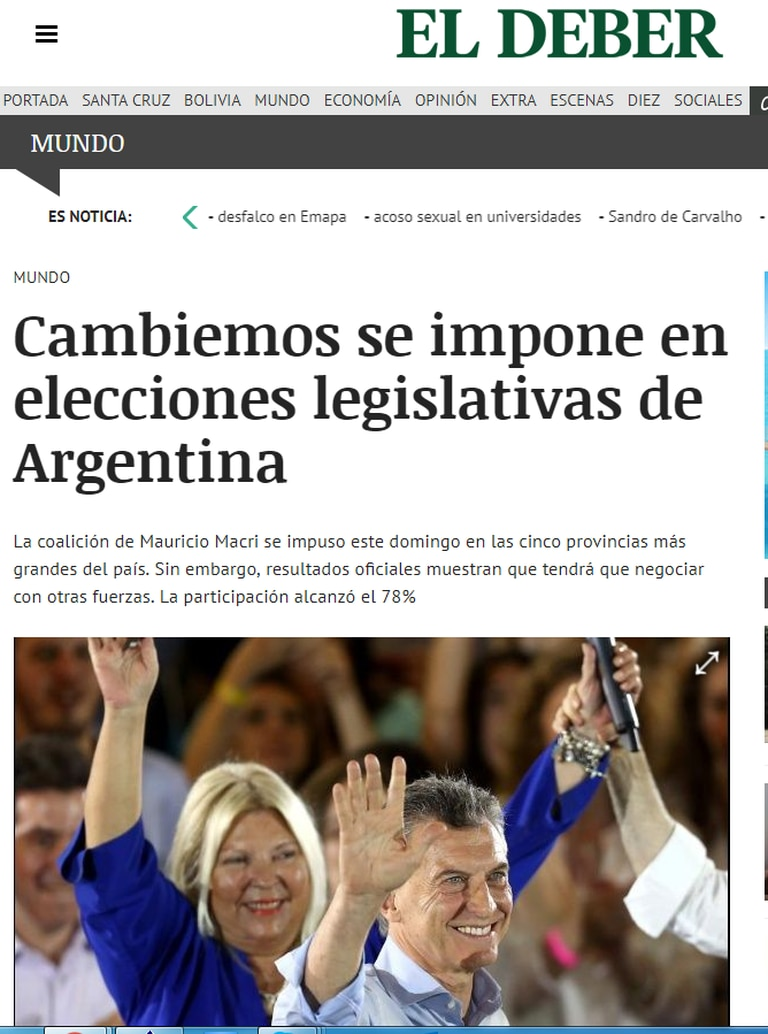 Diario El Deber