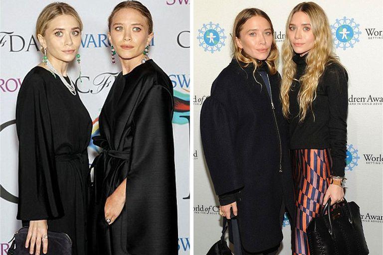 Antes y después: las gemelas Olsen