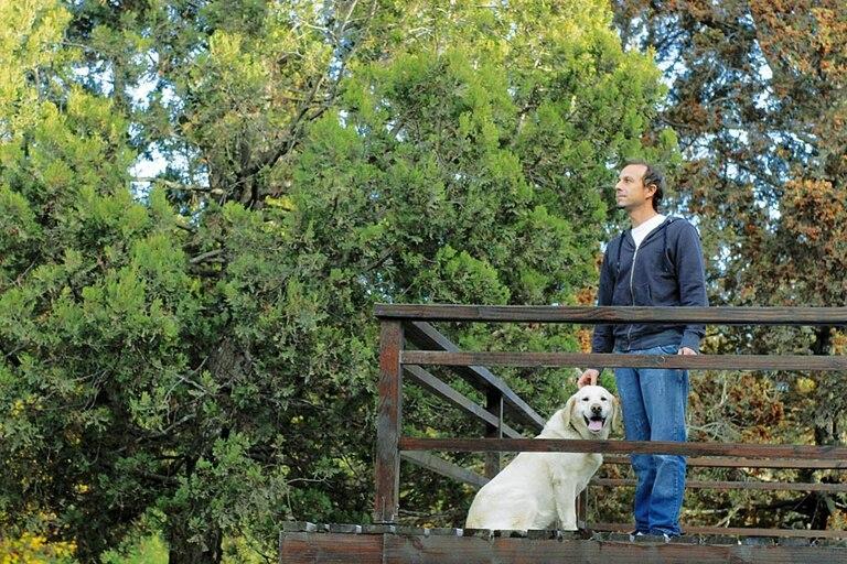 Bariloche. En la bella ciudad del Sur creció y vive en la actualidad con su mujer y sus dos hijos